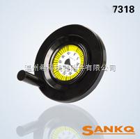 SANKQ,SK7318胶木带表盘手轮,胶木手轮