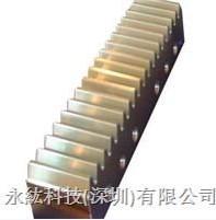 台湾原亿昌YYC斜齿条,齿面磨削齿条