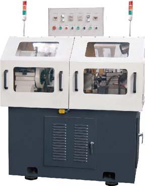 双头两工位中心孔研磨机