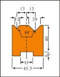 折弯机模具价格 折弯机模具
